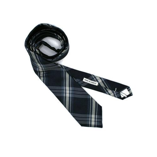 Voici la cravate Passion Carreaux de la brigade du noeud.