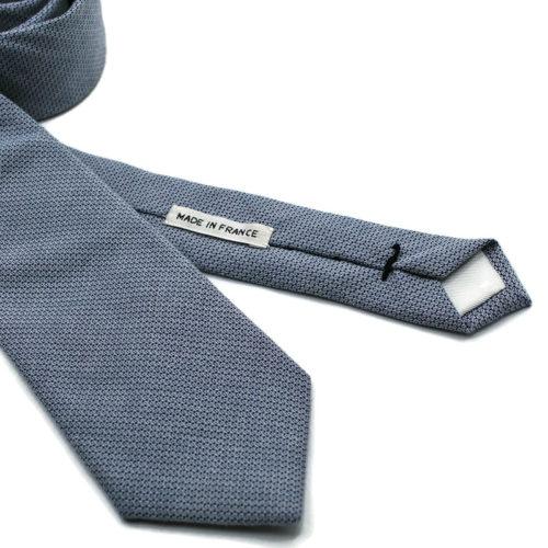 Voici en détail la cravate Quartier Latin de la Brigade du Noeud.